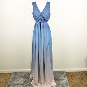TJD x Revolve Caribbean Ombré Maxi Dress Vacation